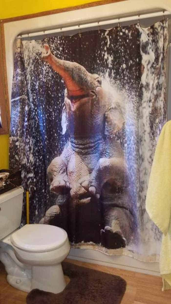 31 Funny Creative Shower Curtains That Will Make Your Day -21
