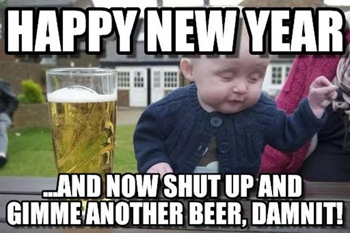 Funny New Year Wishes, Quotes, Pictures and Resolutions - 45 Pics -19