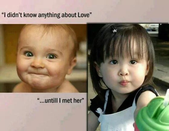 Kids Also Know The Meaning Of Love
