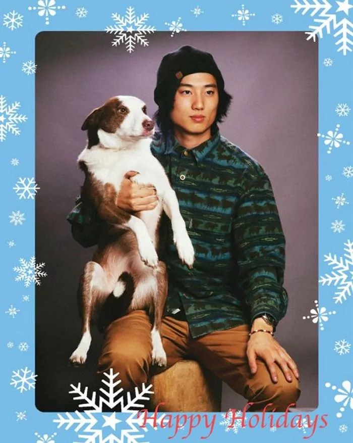 20 Hilarious Christmas Portraits With Pets That Will Make Your Day -07