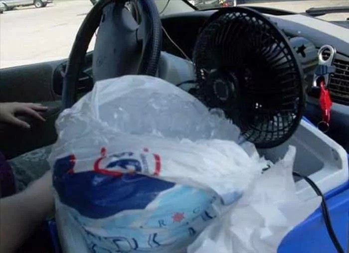 Hilarious DIY Car Fixes That Are Mind Blowing - 35 Pics -01