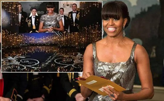 Michelle Obama's Oscars dress design fails Will Shock You -05