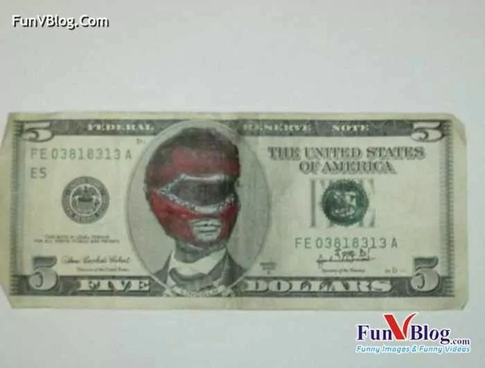11 Mind-blowing Funny Paintings on US Dollar Bill -15