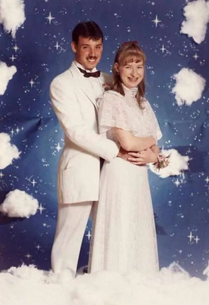50 Ridiculous 80's Prom Photos That Will Make You Laugh -20