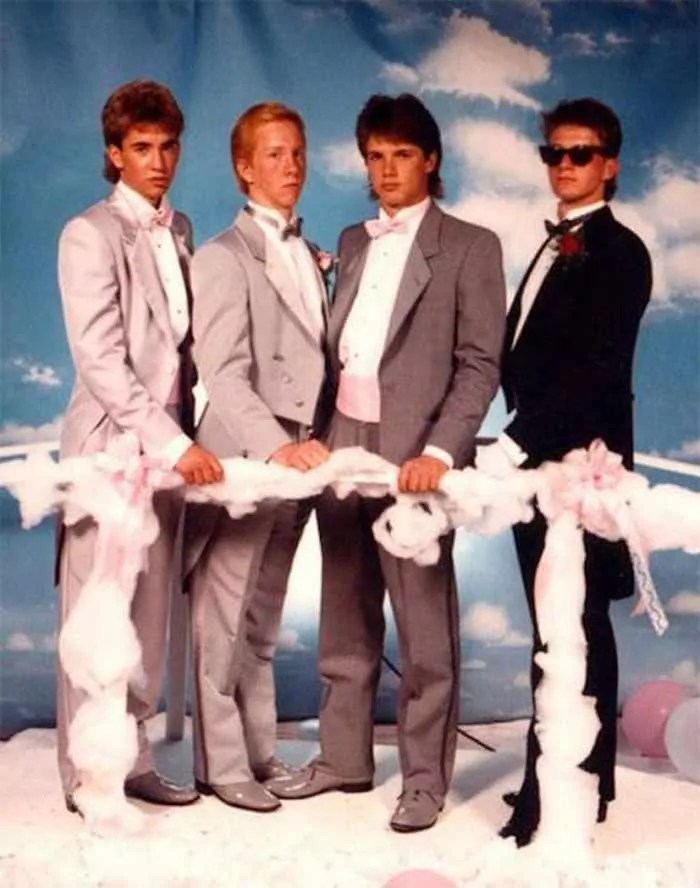 50 Ridiculous 80's Prom Photos That Will Make You Laugh -37