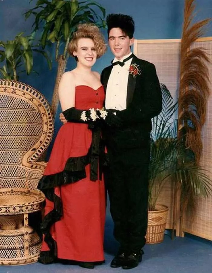 50 Ridiculous 80's Prom Photos That Will Make You Laugh -48