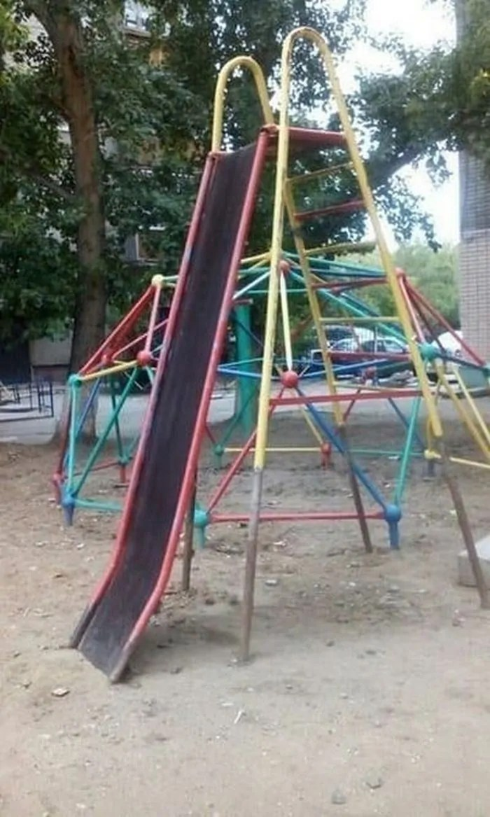 17 Pics of Ridiculous Playground in Russia That Will Make You LOL -09