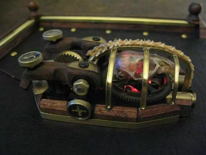 13 Funny Pictures of Steampunk Mouse -07