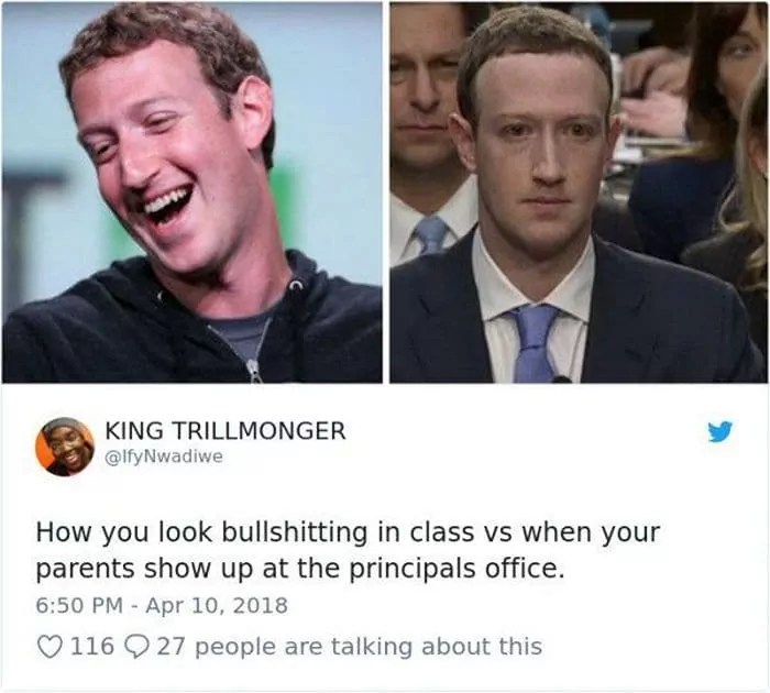34 Viral Memes of Mark Zuckerberg Congressional Hearing Will Make Your Day -19