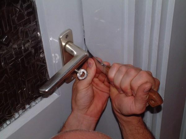 Home burglary photo