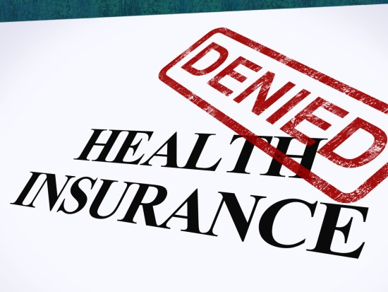 Health insurance denied photo