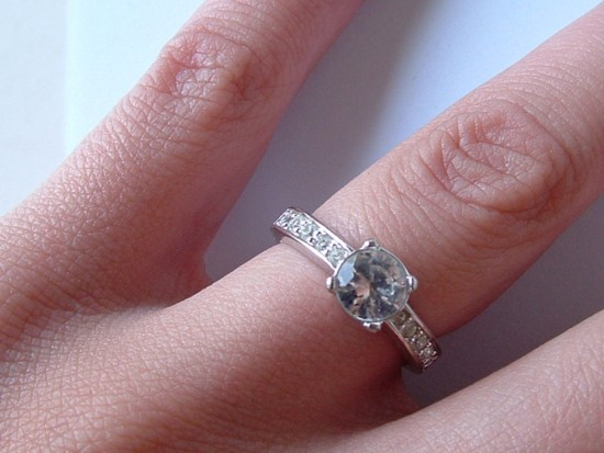 Photo of engagement ring