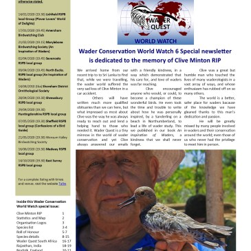 WCWW6 Newsletter Special and Anniversary Grant.