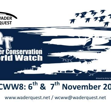 Wader Conservation World Watch; it's just around the corner.