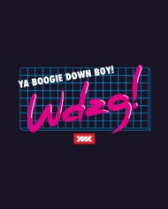 BOOGIE DOWN TEE FRONT