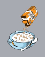 CEREAL MISTY TEE FRONT