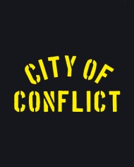 CITY OF CONFLICT TEE BACK