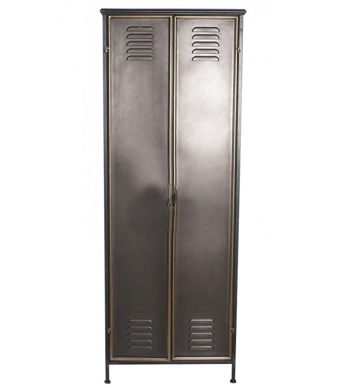 gris fonce style casiers industriels