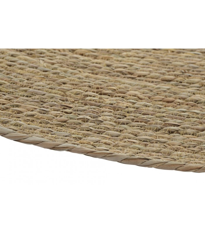 tapis en fibre vegetale rond diametre