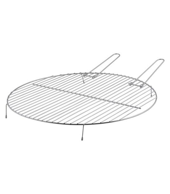 grille de barbecue ronde en metal diam 51 5cm