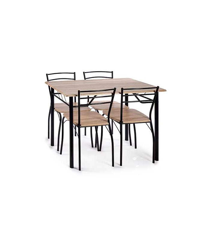 ensemble table salle a manger en bois