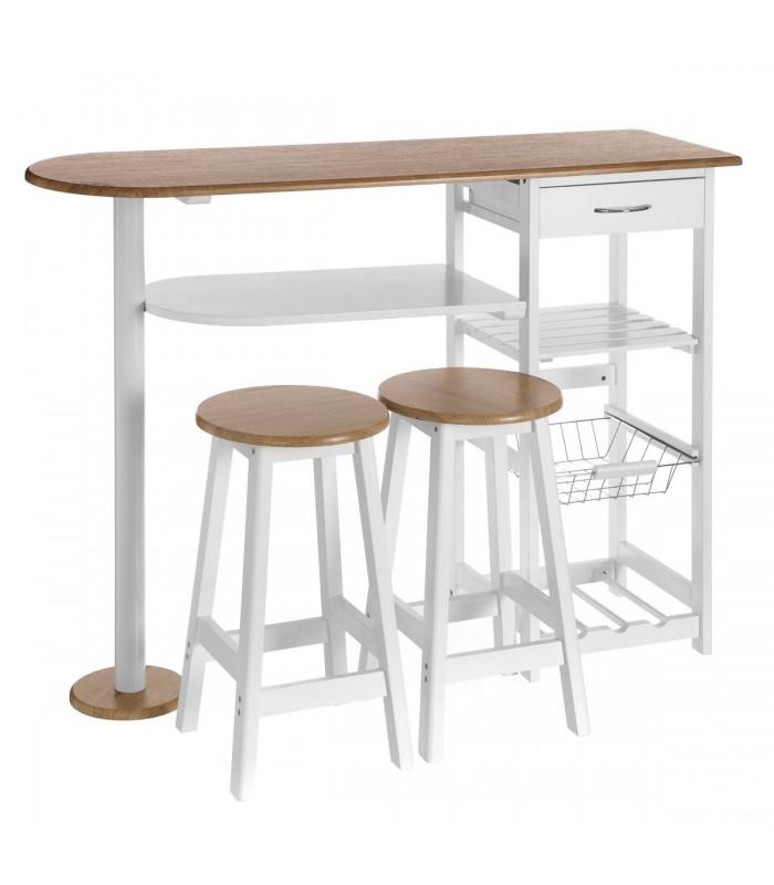 bar table 2 bar stools
