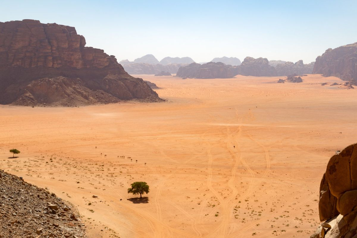 Lawrence Spring, Wadi Rum. Top sights of Wadi Rum included in our jeep tours.