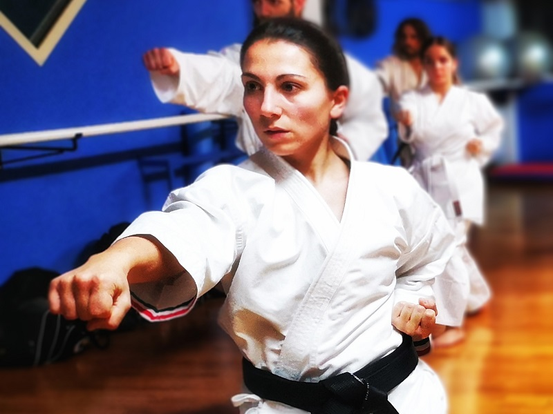Karate for babies' coach: Elisa Testa