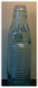 Wadsworth bottle with marble