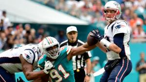 The Pats are as high as a 19.5-point favorite