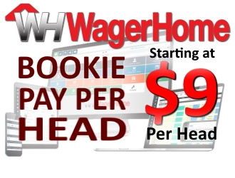 Bookie Pay Per Head at $9 Per Player