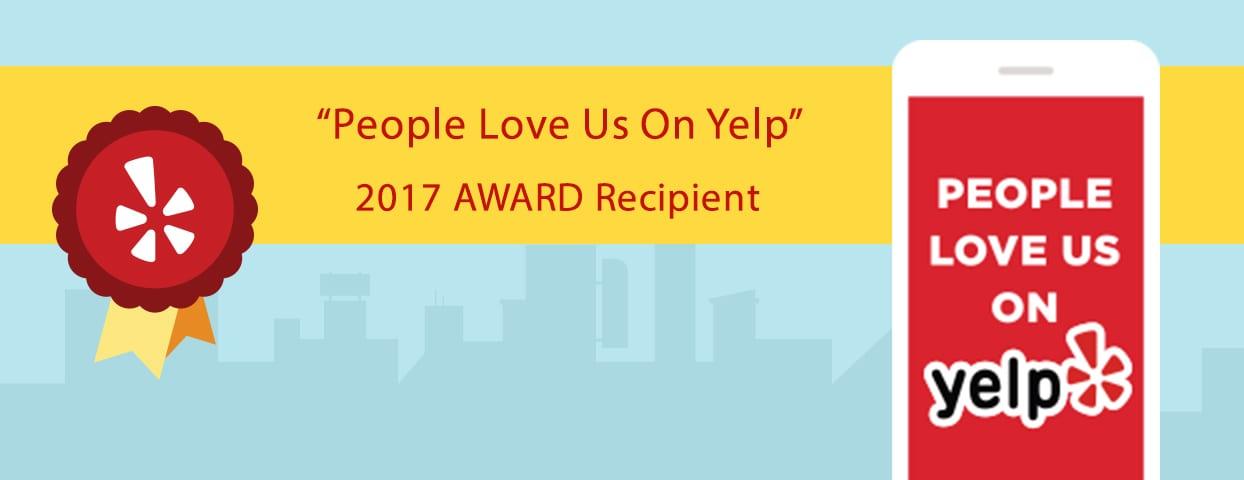 Yelp 2017 Award