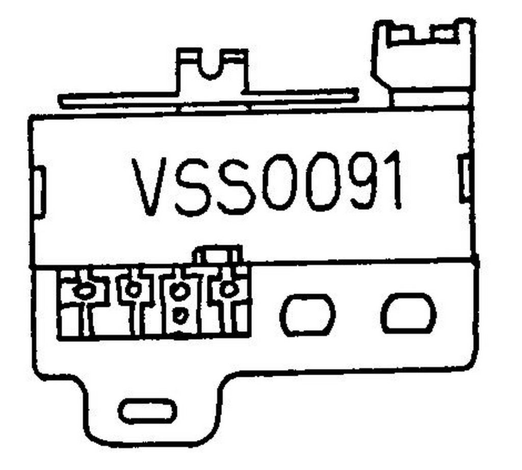 Vss National Mode Switch Vcr Parts