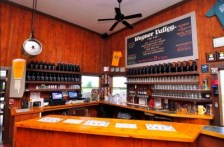 Beer tasting counter