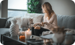 Feeding right - Dog separation anxiety solutions