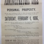 Administrator's Sale