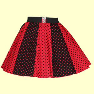 Black/Red & Red/Black 7mm PD Panel Skirt