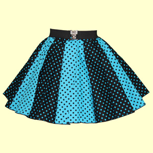Blk/Turq & Turq/Blk 7mm PD Panel Skirt