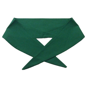 Ladies Emerald Green Neckerchief