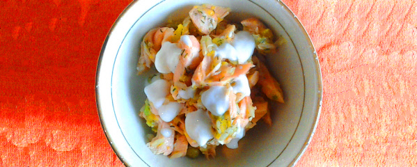 peach salmon for dogs
