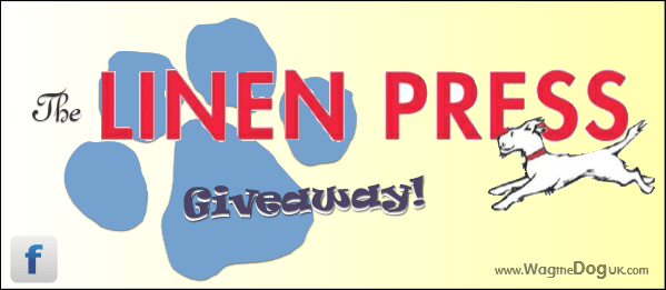 The Linen Press dog cover giveaway