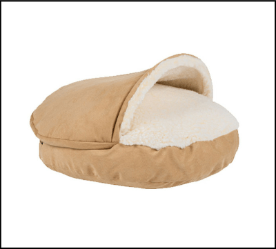 enter to win a cozy cave dog bed