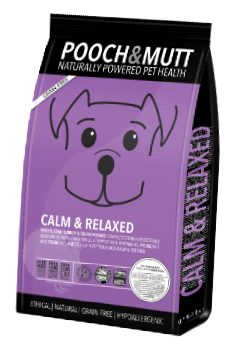 pooch and mutt calm and relaxed dog food