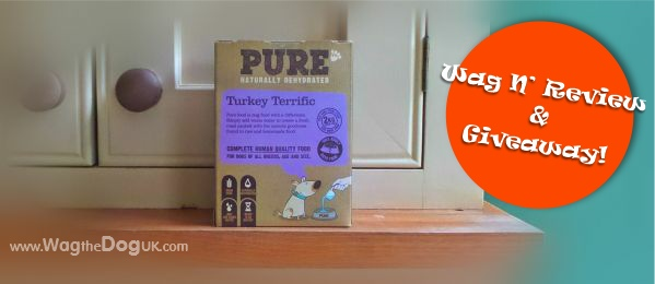 pure dog food turkey review
