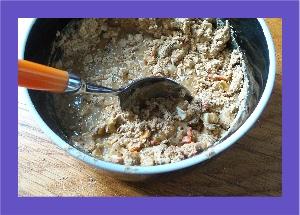 stir pure dog food