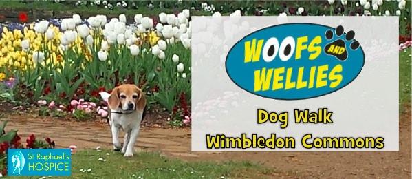 woof and wellies wimbledon dog walk