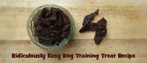 dog training treats recipe