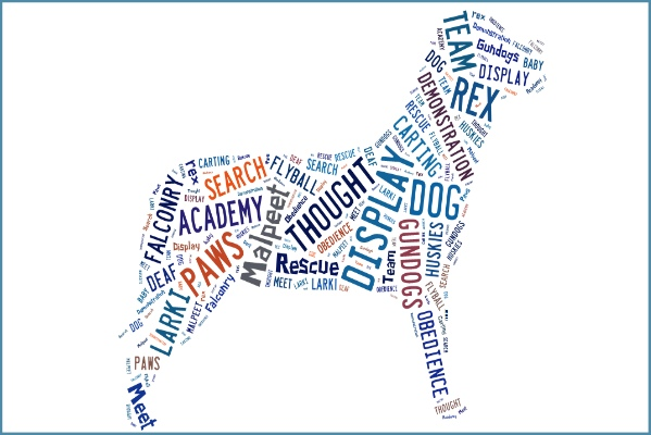 dog show words