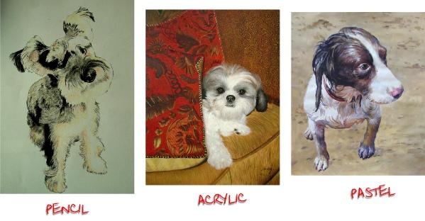 pet portraits art 2
