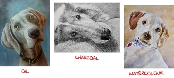 pet portraits art